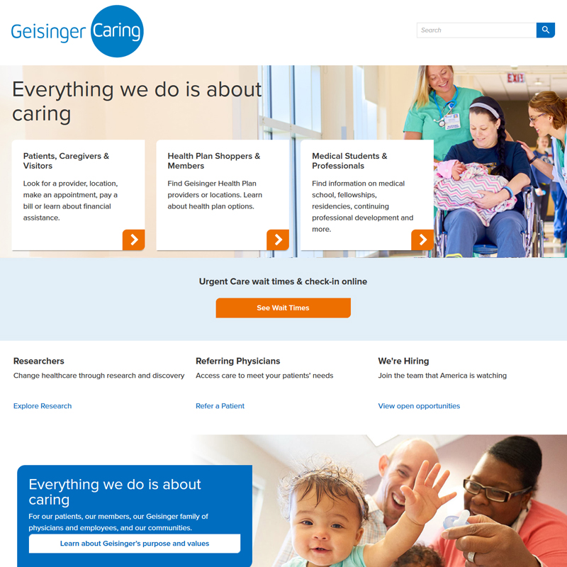 Design to Help the Invention Process — Geisinger Medical Center